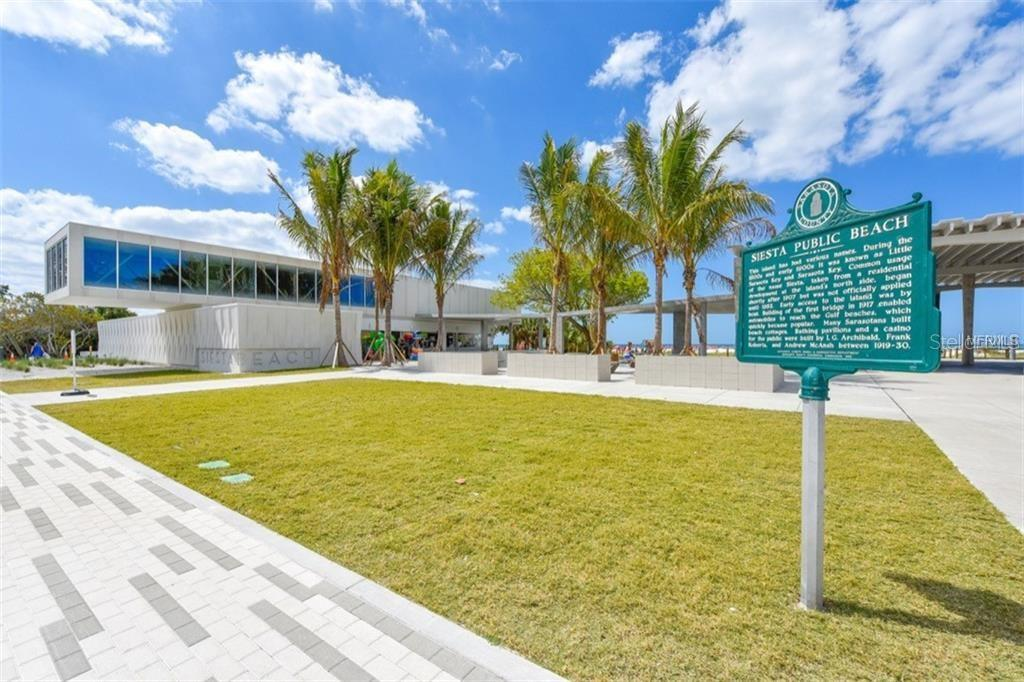 New Siesta Public Beach - Condo for sale at 925 Beach Rd #107b, Sarasota, FL 34242 - MLS Number is A4413716