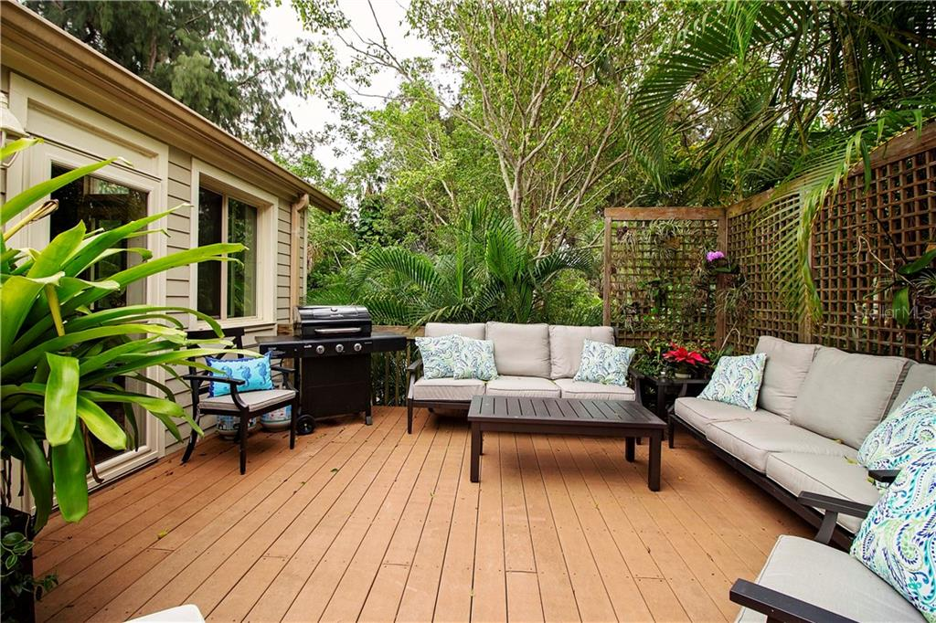 Deck is Lighted at Night - Single Family Home for sale at 1205 Sea Plume Way, Sarasota, FL 34242 - MLS Number is A4414083