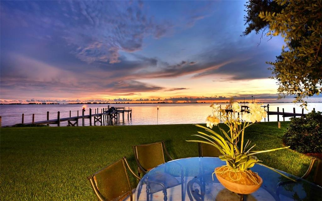 Evenings of sunsets along the shores of Sarasota Bay. - Single Family Home for sale at 2145 Alameda Ave, Sarasota, FL 34234 - MLS Number is A4414337