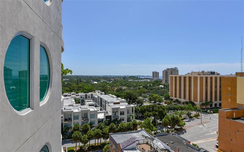 Partial View of Bay - Condo for sale at 1771 Ringling Blvd #1011, Sarasota, FL 34236 - MLS Number is A4414630