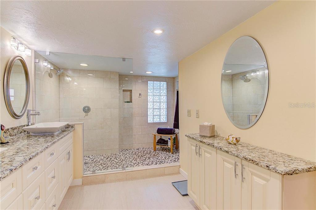 Spa Style Master Bath - Condo for sale at 8750 Midnight Pass Rd #502c, Siesta Key, FL 34242 - MLS Number is A4416020