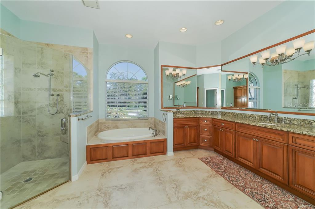 Luxurious Master Bath - Single Family Home for sale at 1714 79th Ct W, Bradenton, FL 34209 - MLS Number is A4416601