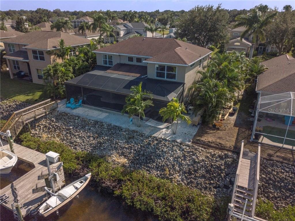 Enjoy fun filled days boating and relaxing evenings on this expansive screened in pation. - Single Family Home for sale at 3803 5th Ave Ne, Bradenton, FL 34208 - MLS Number is A4417524