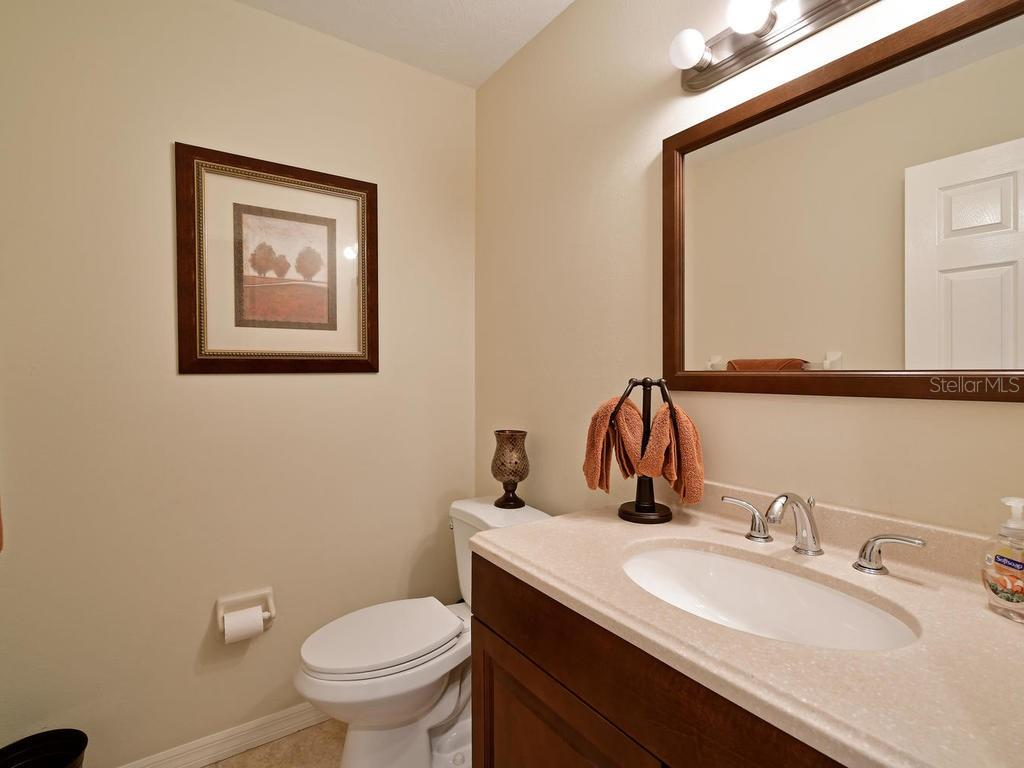 guest half bath - Single Family Home for sale at 9902 Braden Run, Bradenton, FL 34202 - MLS Number is A4419792