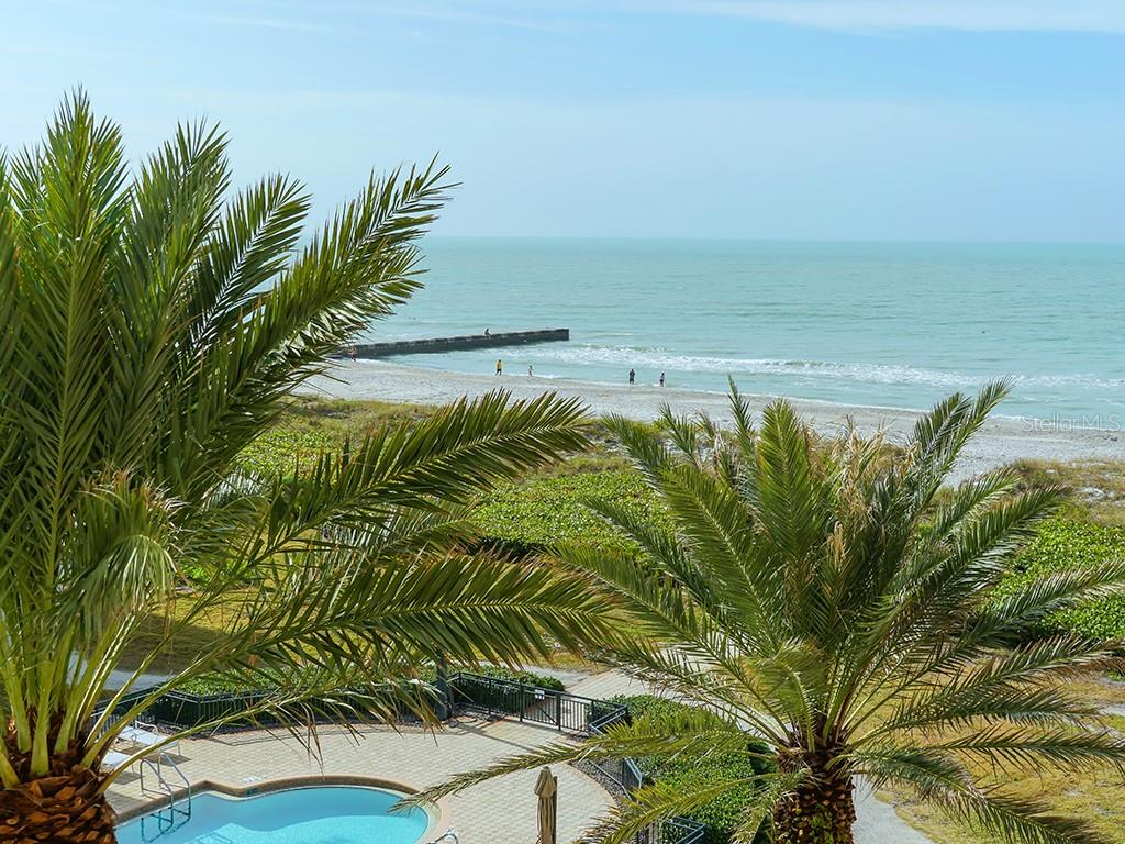 Lush Mature Palm Trees Surround Pool & Beach - Condo for sale at 2399 Gulf Of Mexico Dr #3c3, Longboat Key, FL 34228 - MLS Number is A4421722