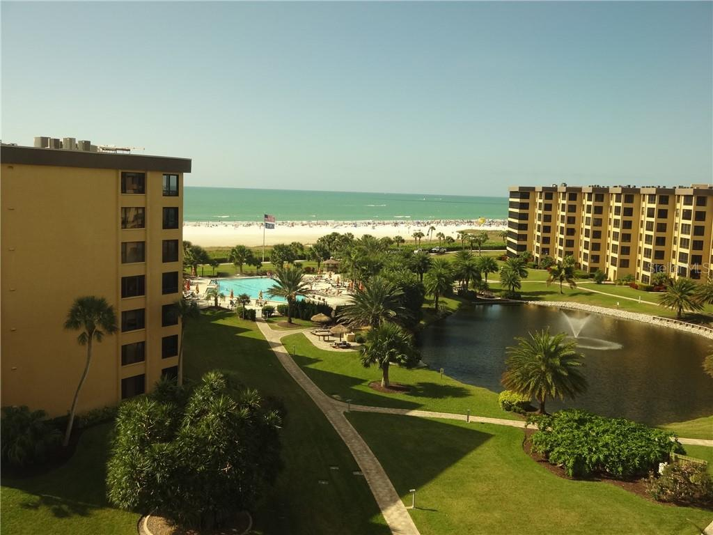 West View from Unit - Condo for sale at 5780 Midnight Pass Rd #701b, Sarasota, FL 34242 - MLS Number is A4422545