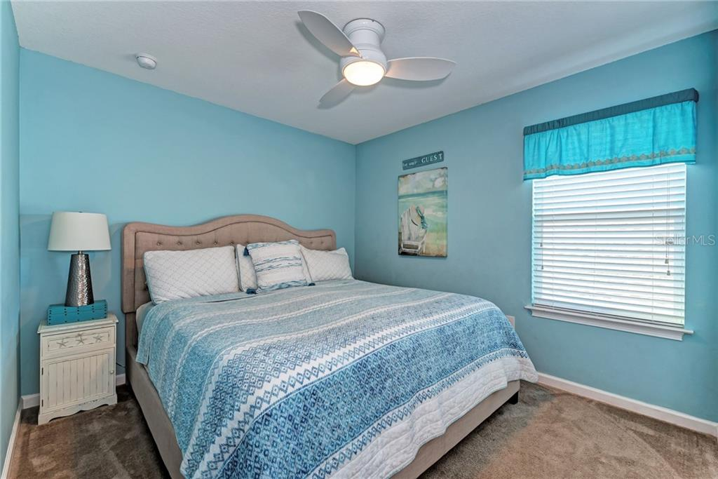 The 4th bedroom is upstairs next to the Loft - perfect for a child wanting their own space! - Single Family Home for sale at 5260 Bentgrass Way, Bradenton, FL 34211 - MLS Number is A4424484