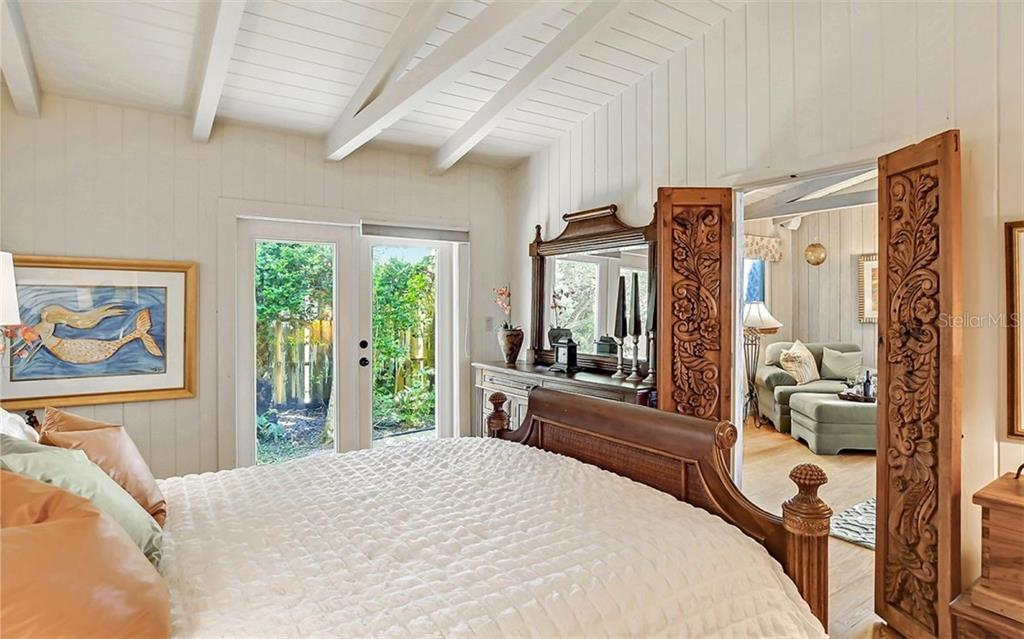3rd Bedroom on main floor - Single Family Home for sale at 121 N Casey Key Rd, Osprey, FL 34229 - MLS Number is A4425715