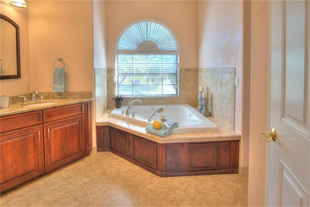 Master bath - spa/jet bathtub - Single Family Home for sale at 29325 Saddlebag Trl, Myakka City, FL 34251 - MLS Number is A4426203