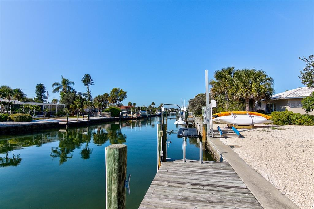 Dock with Canal View - Single Family Home for sale at 622 Dundee Ln, Holmes Beach, FL 34217 - MLS Number is A4426329