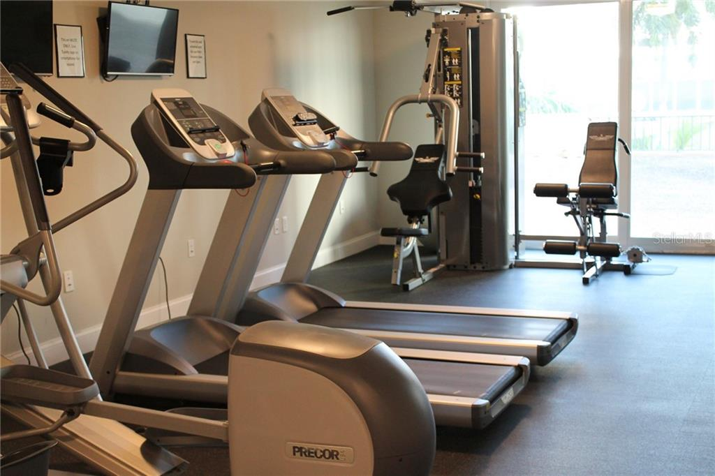 Yoga room in the fitness center - Condo for sale at 101 S Gulfstream S #16b/Phb, Sarasota, FL 34236 - MLS Number is A4426960