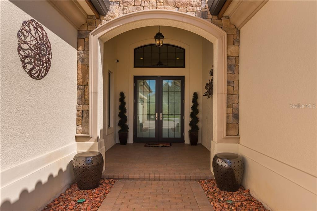 A gracious entry. - Single Family Home for sale at 3507 Founders Club Dr, Sarasota, FL 34240 - MLS Number is A4428010