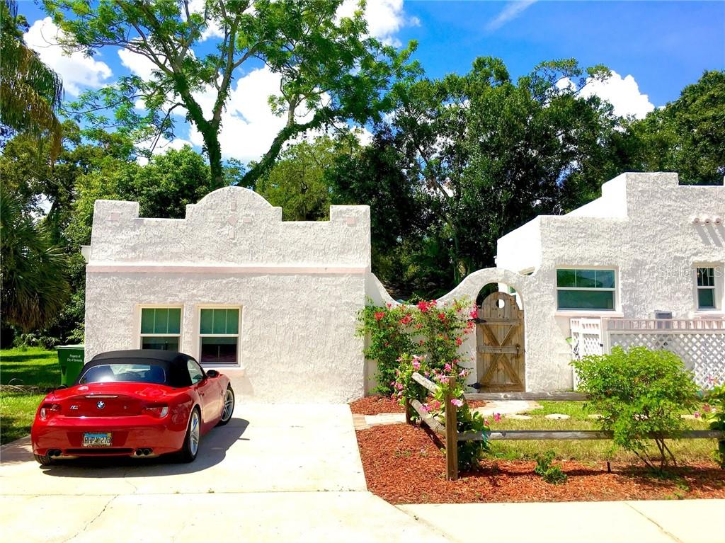 Parking and access for Guest house - Single Family Home for sale at 707 N Osprey Ave, Sarasota, FL 34236 - MLS Number is A4429678
