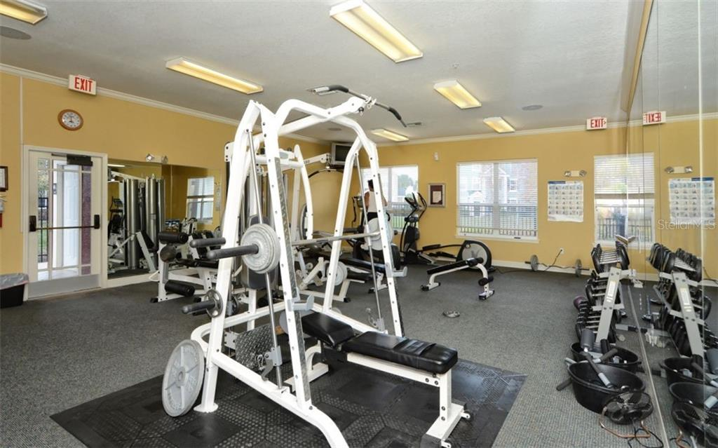 Fitness Center - Condo for sale at 5701 Soldier Cir #204, Sarasota, FL 34233 - MLS Number is A4430587