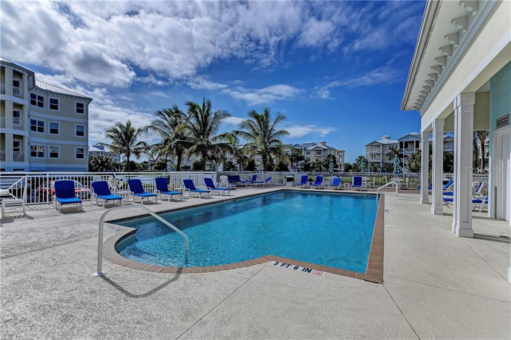 Poolside at the Palma Sola Bay Club - Condo for sale at 3450 77th St W #303, Bradenton, FL 34209 - MLS Number is A4432369