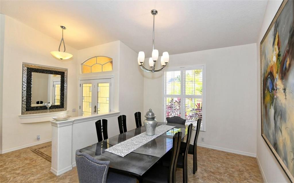 Lovely Dining Area - Single Family Home for sale at 3525 White Ln, Sarasota, FL 34242 - MLS Number is A4433441