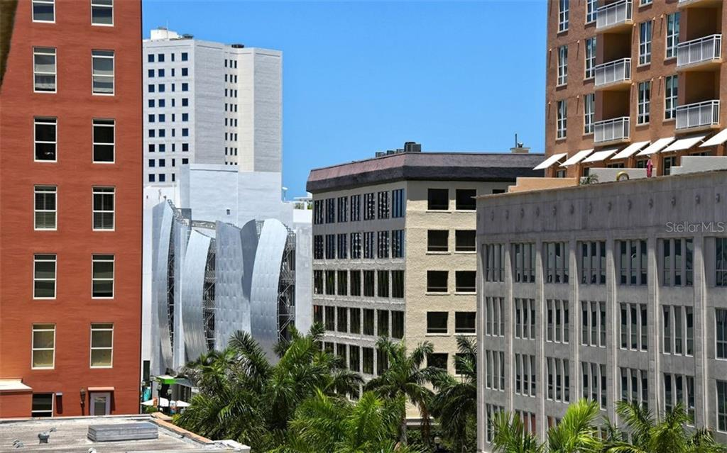 The beautiful architecture of Downtown Sarasota - Condo for sale at 101 S Gulfstream Ave #6d, Sarasota, FL 34236 - MLS Number is A4434802