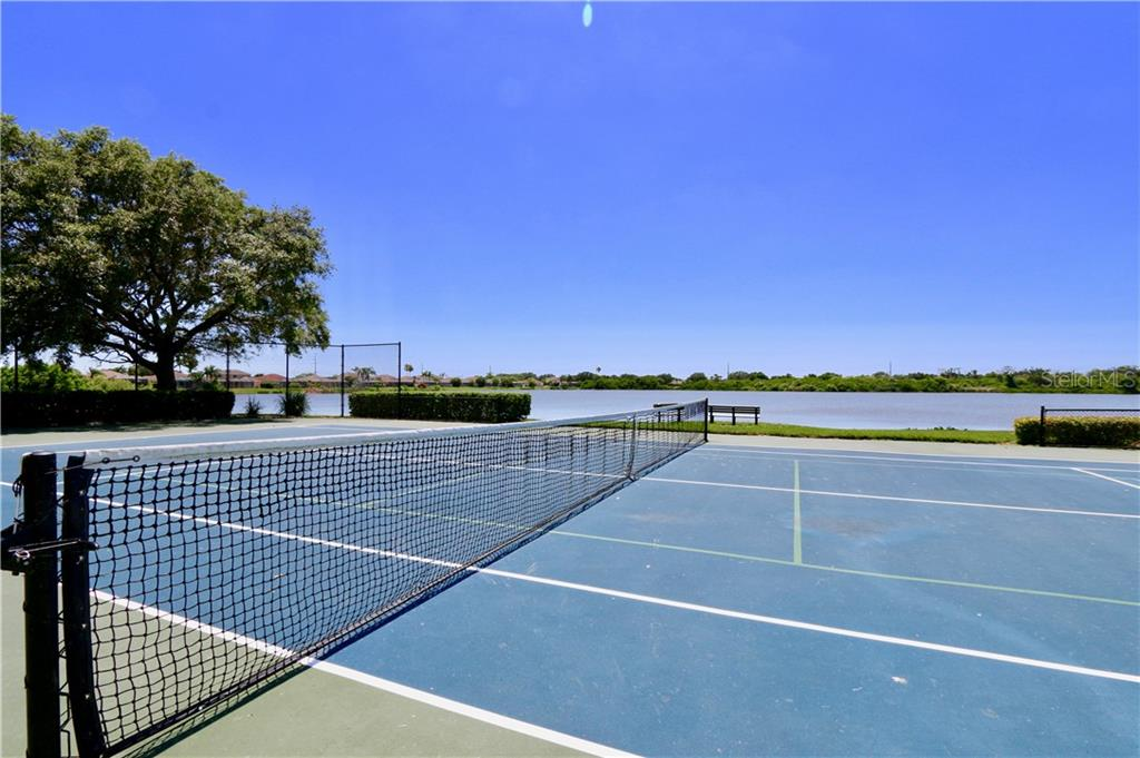 Community tennis and pickle ball court - Single Family Home for sale at 5082 47th St W, Bradenton, FL 34210 - MLS Number is A4435806
