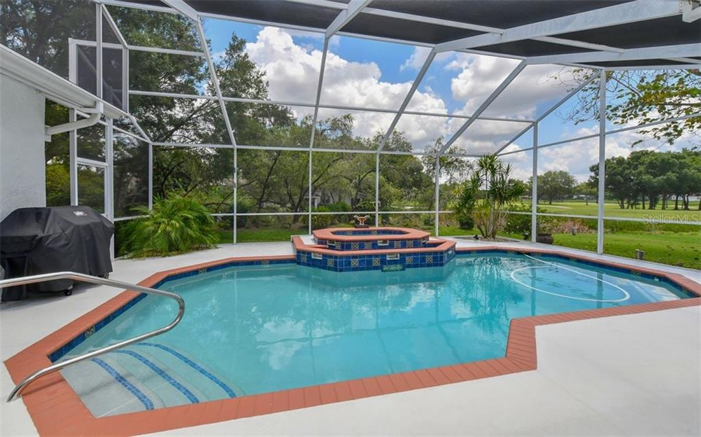 Easy Access to the pool and spa - Single Family Home for sale at 5401 Downham Meadows, Sarasota, FL 34235 - MLS Number is A4436577