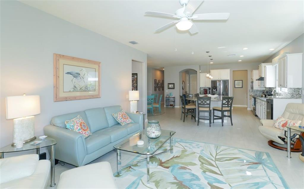 Living Room - Single Family Home for sale at 13337 Pacchio St, Venice, FL 34293 - MLS Number is A4437569