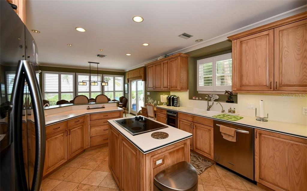 Kitchen - Single Family Home for sale at 3809 Casey Key Rd, Nokomis, FL 34275 - MLS Number is A4437924