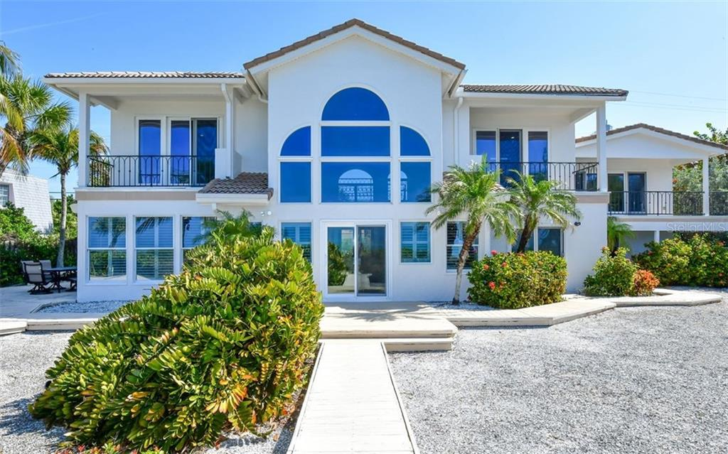 Southern Entrance - Single Family Home for sale at 3809 Casey Key Rd, Nokomis, FL 34275 - MLS Number is A4437924