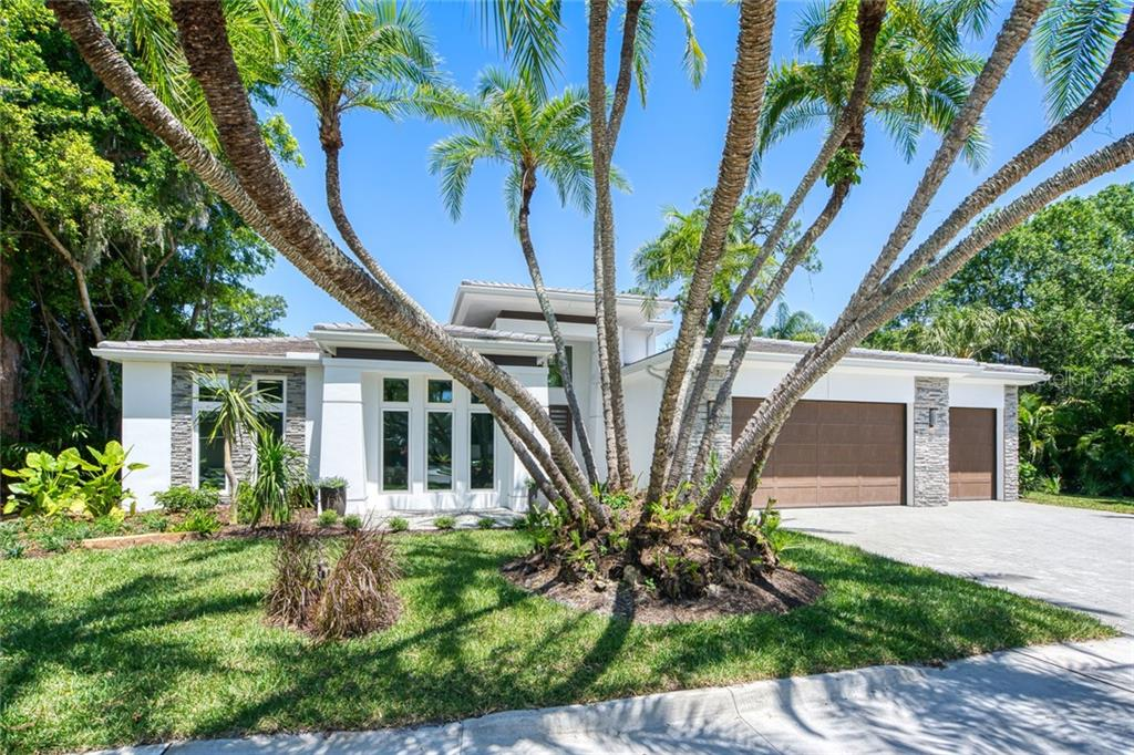 Pool Plan - Single Family Home for sale at 1757 Oval Dr S, Sarasota, FL 34239 - MLS Number is A4438225