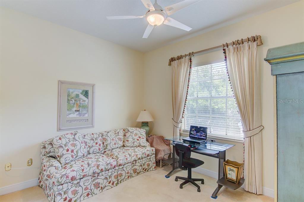 2nd Floor Office/Guest Bedroom - Single Family Home for sale at 811 Jungle Queen Way, Longboat Key, FL 34228 - MLS Number is A4438987
