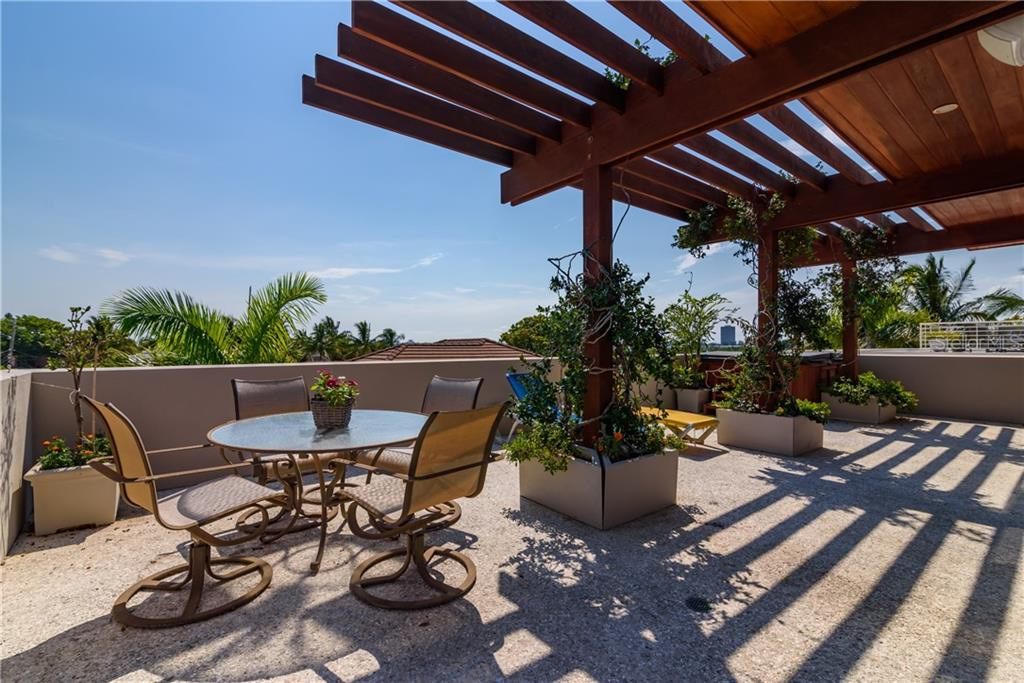 Rooftop Terrace 2 - Single Family Home for sale at 246 Morningside Dr, Sarasota, FL 34236 - MLS Number is A4441172