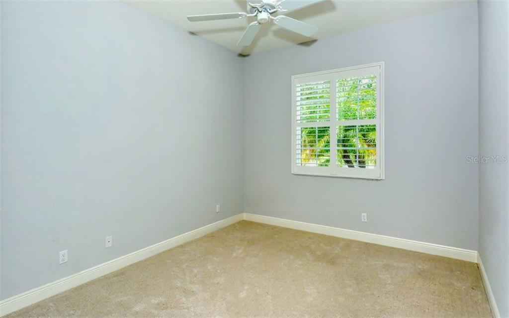 2nd Bedroom - Single Family Home for sale at 1696 Lancashire Dr, Venice, FL 34293 - MLS Number is A4441325