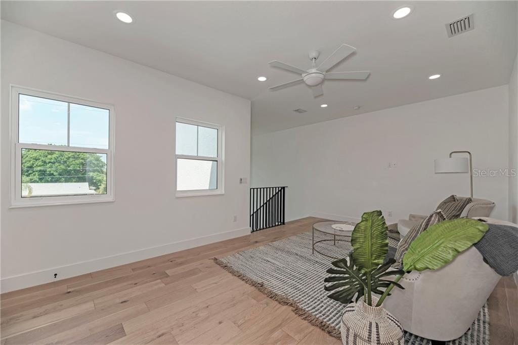 Upstairs Media/Bonus Room - Single Family Home for sale at 5035 Sandy Beach Ave, Sarasota, FL 34242 - MLS Number is A4445640