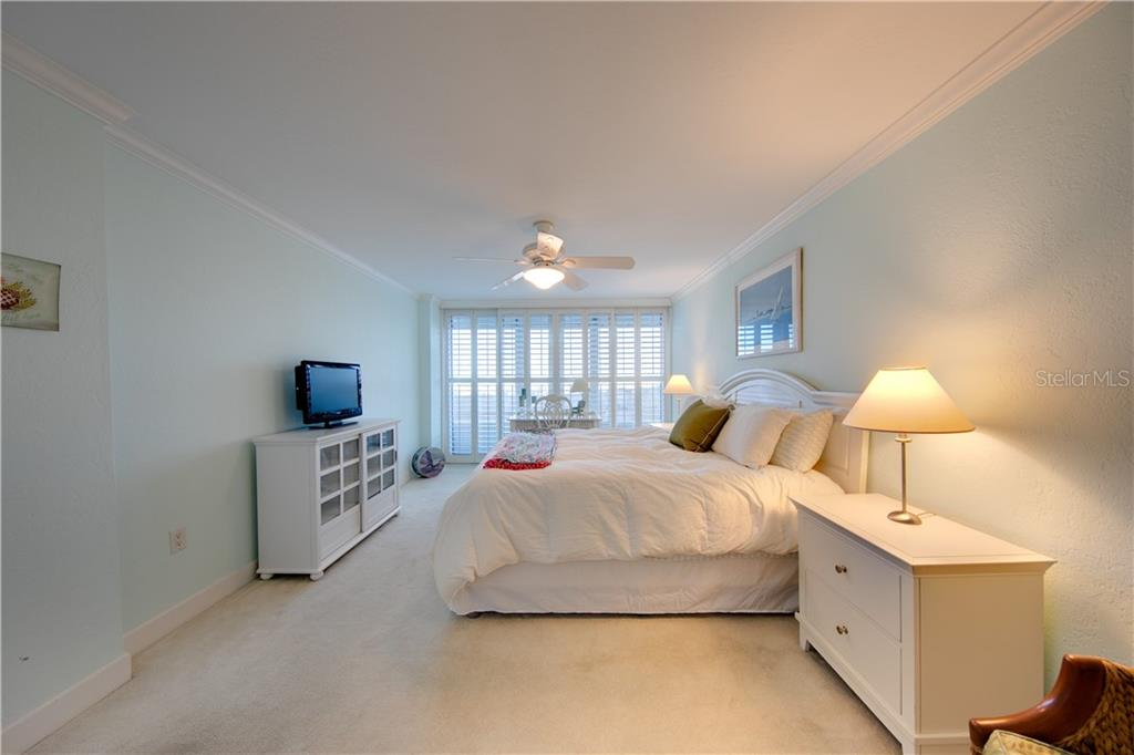 Another view of the master bedroom. - Condo for sale at 555 The Esplanade N #102, Venice, FL 34285 - MLS Number is A4450635