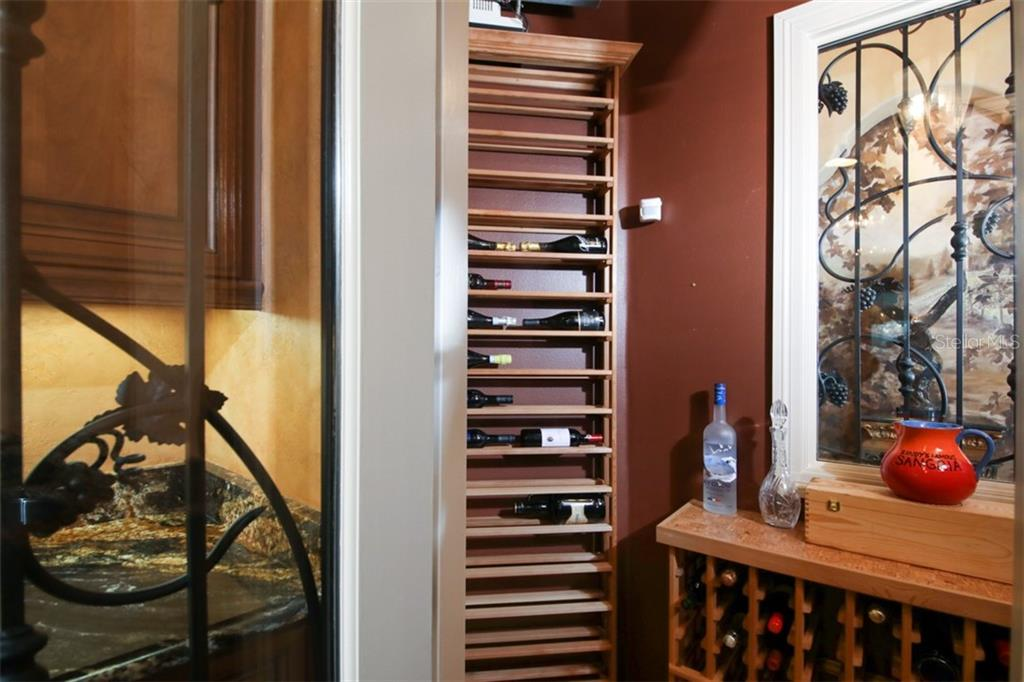Wine room - Single Family Home for sale at 15212 Linn Park Ter, Lakewood Ranch, FL 34202 - MLS Number is A4450793
