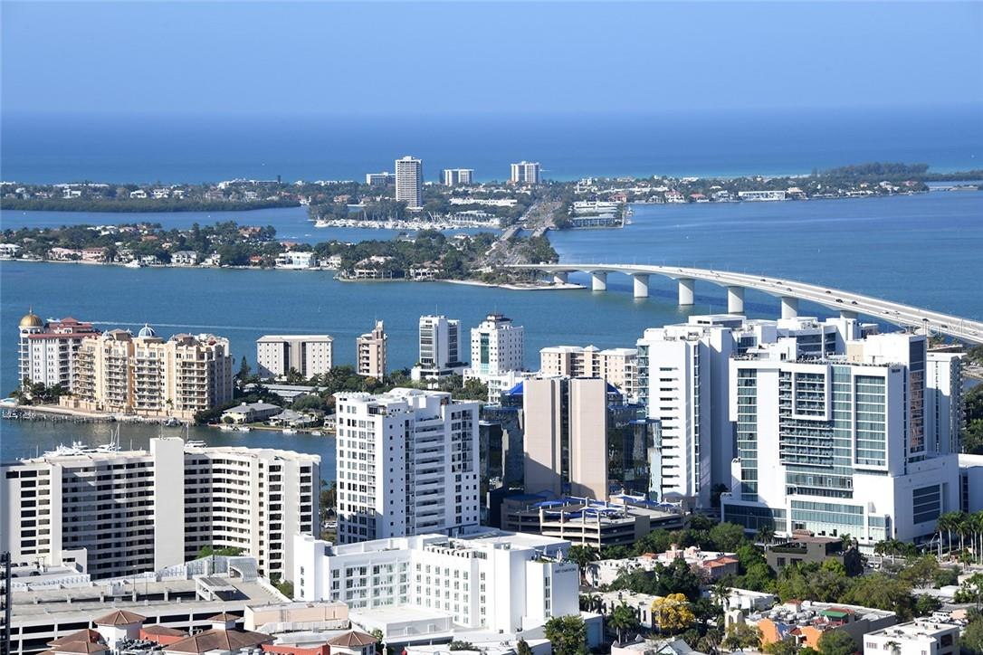 Dining Room - Access to Balcony - Condo for sale at 50 Central Ave #16 South, Sarasota, FL 34236 - MLS Number is A4454416