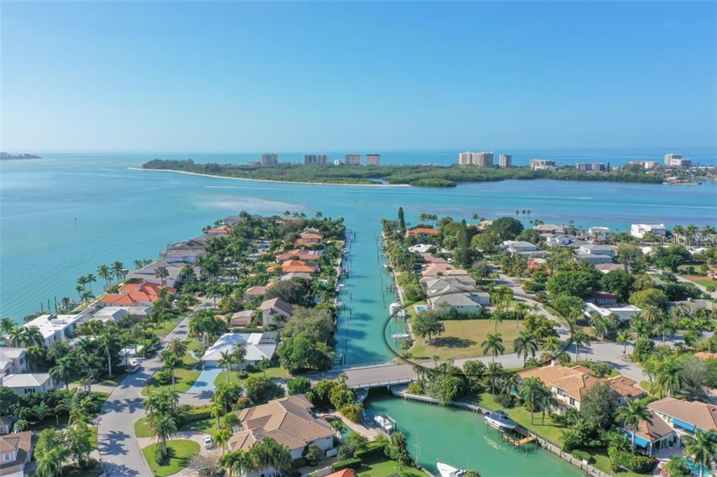 Direct Access to the Gulf from your private dock. No bridges. - Vacant Land for sale at 656 S Owl Dr, Sarasota, FL 34236 - MLS Number is A4457438