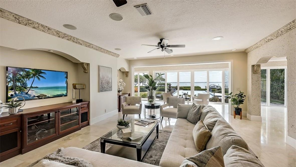 Master Bedroom Has Been Virtually Staged. - Single Family Home for sale at 5372 Sandhamn Pl, Longboat Key, FL 34228 - MLS Number is A4458496