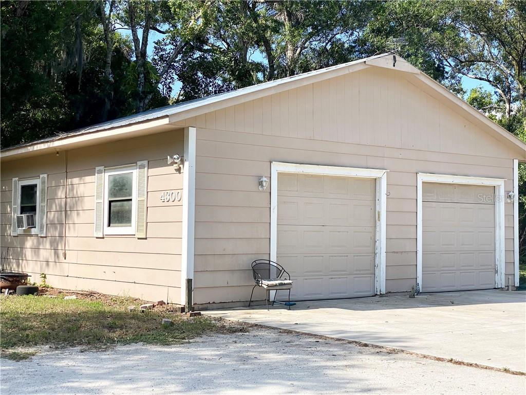 Detached Garage. - Single Family Home for sale at 4300 Eastern Pkwy, Sarasota, FL 34233 - MLS Number is A4464200