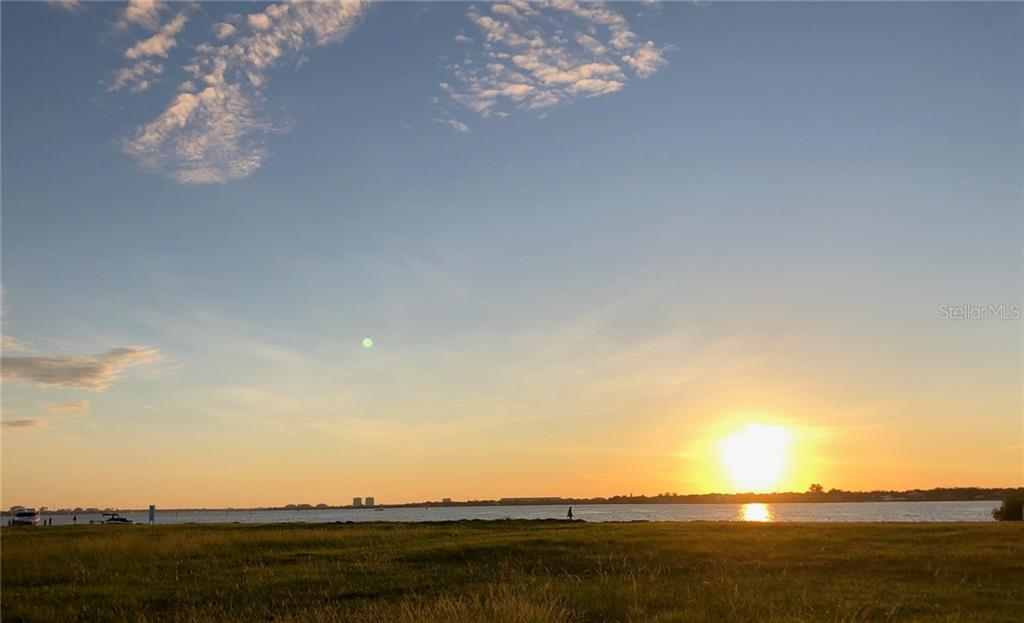 Beautiful sunset view from Lot 603 - Vacant Land for sale at 680 Regatta Way, Bradenton, FL 34208 - MLS Number is A4468555
