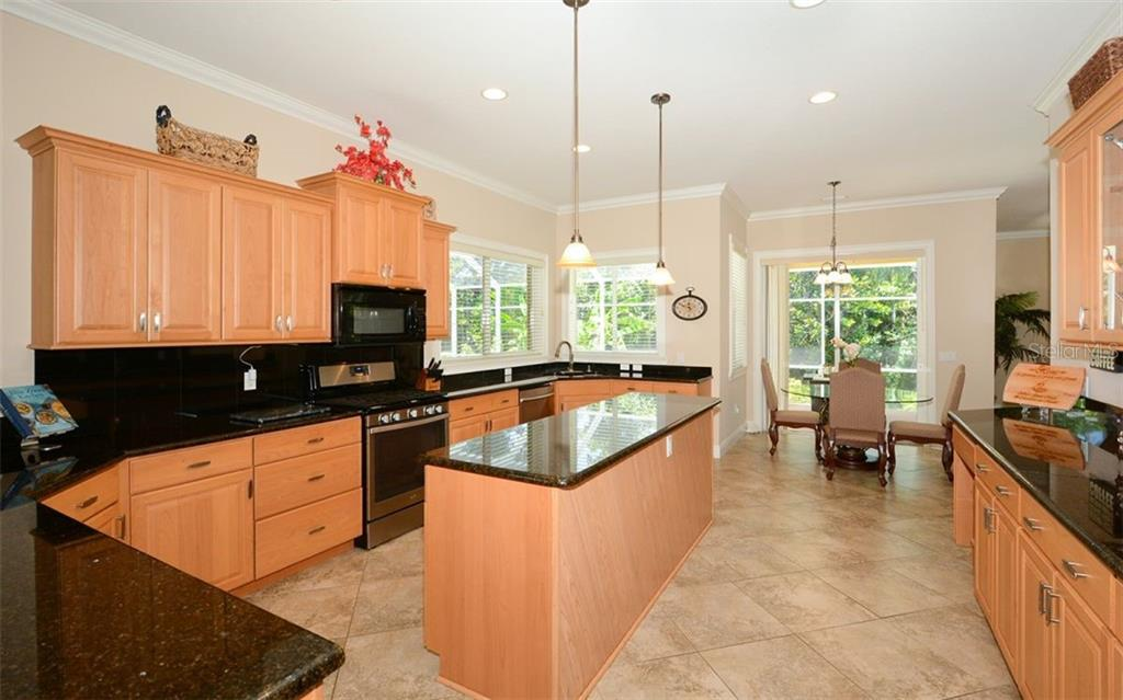 A chefs dream kitchen! - Single Family Home for sale at 1623 Jacana Ct, Nokomis, FL 34275 - MLS Number is A4470679