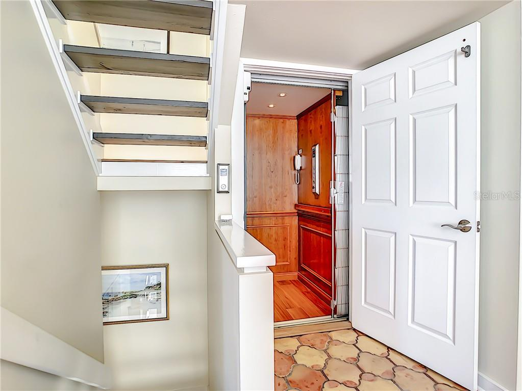Elevator on all 3 floors - Townhouse for sale at 69 Tidy Island Blvd #69, Bradenton, FL 34210 - MLS Number is A4471437