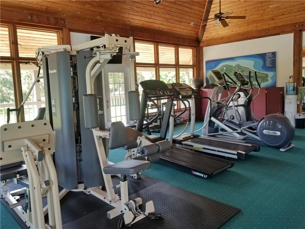Fitness Center - Townhouse for sale at 69 Tidy Island Blvd #69, Bradenton, FL 34210 - MLS Number is A4471437