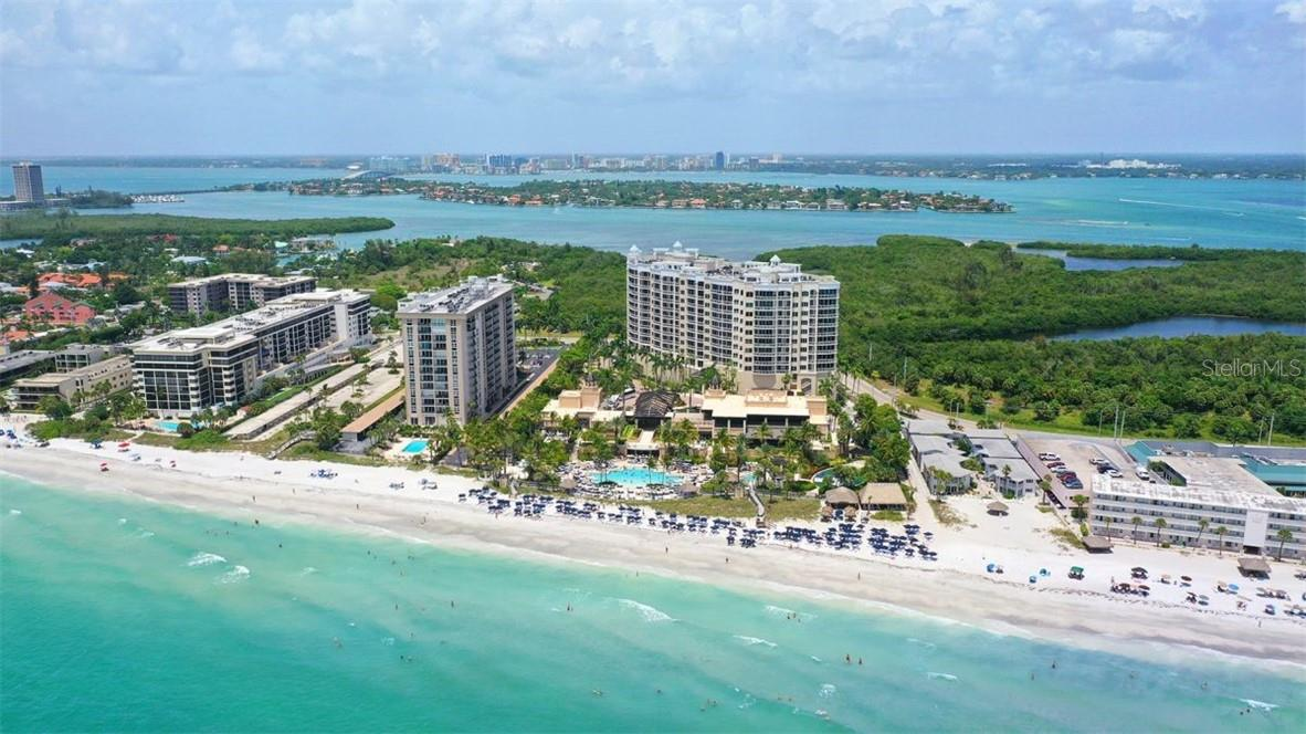 Picturesque views of Sarasota - Condo for sale at 1300 Benjamin Franklin Dr #708, Sarasota, FL 34236 - MLS Number is A4471978