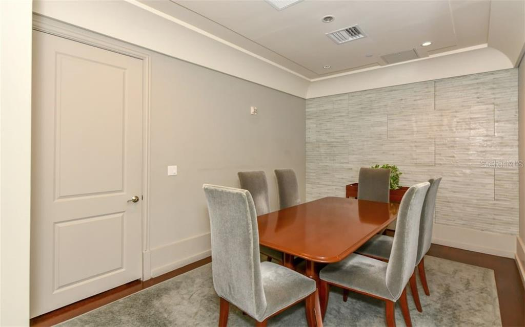 Meeting room - Condo for sale at 1350 Main St #701, Sarasota, FL 34236 - MLS Number is A4472236