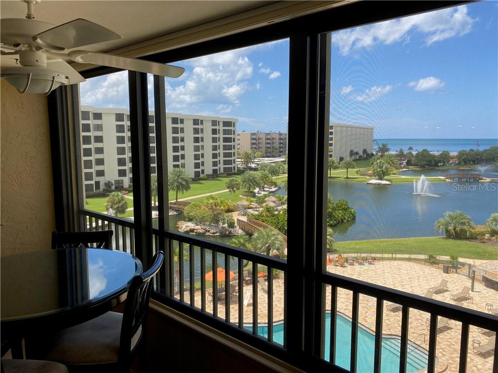 Enjoy your morning coffee while taking in the view. - Condo for sale at 5770 Midnight Pass Rd #509c, Sarasota, FL 34242 - MLS Number is A4472645