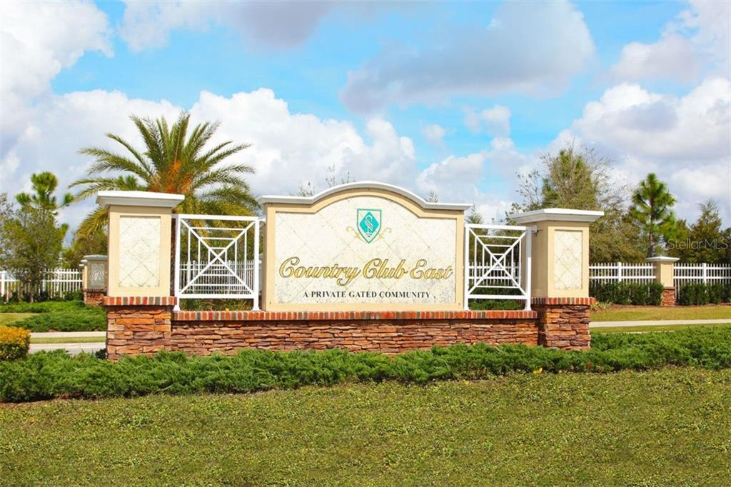 Country Club East Community includes two resort style pools, recreational area, gathering room, gym and the use of The Retreat and Hazeltine. The Lodge and The Country Club are optional. - Single Family Home for sale at 14609 Secret Harbor Pl, Lakewood Ranch, FL 34202 - MLS Number is A4474390