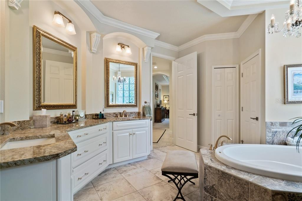 Luxurious master bath with all new fixtures - Single Family Home for sale at 1907 Clematis St, Sarasota, FL 34239 - MLS Number is A4474600