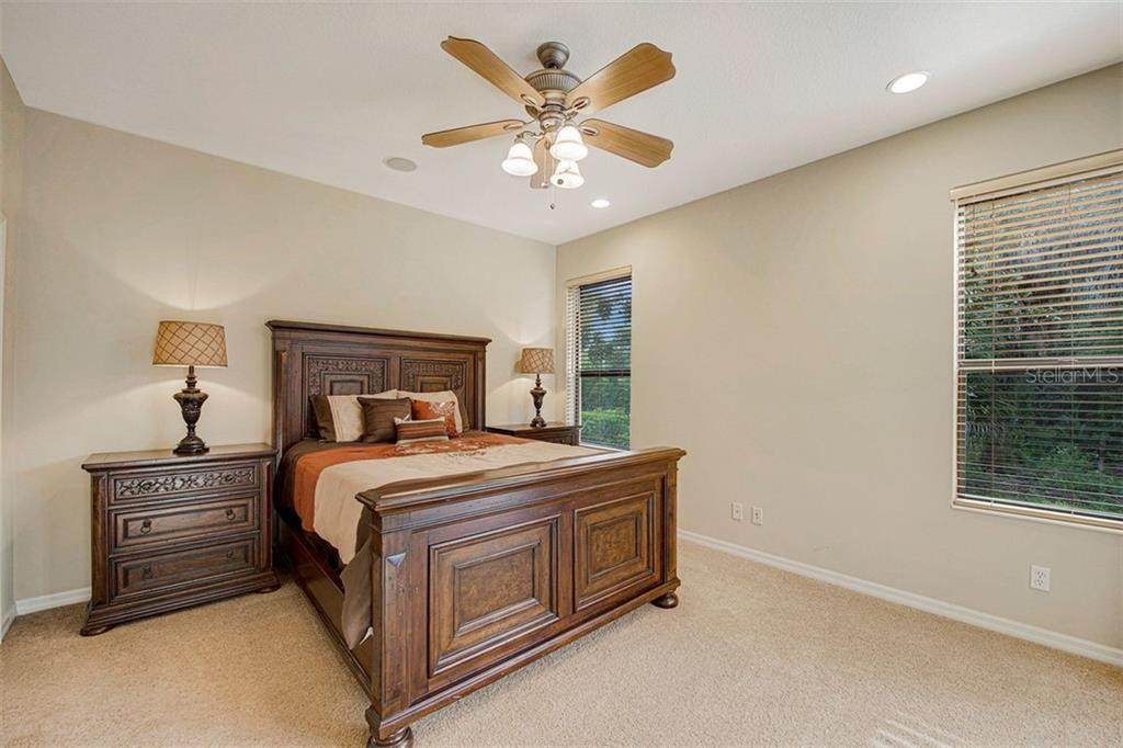 Bedroom 2 - Single Family Home for sale at 684 Crane Prairie Way, Osprey, FL 34229 - MLS Number is A4478575