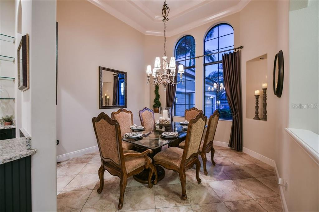 Formal Dining Room - Single Family Home for sale at 14507 Leopard Crk, Lakewood Ranch, FL 34202 - MLS Number is A4478709
