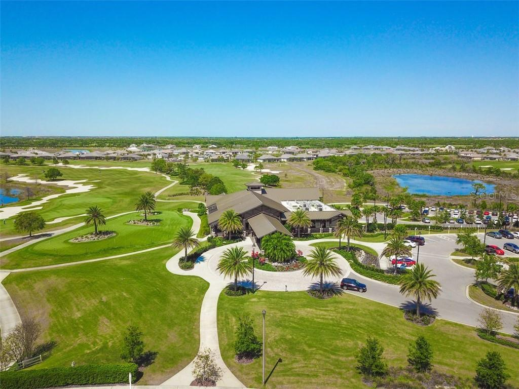 The Lodge overlooking the golf course - Single Family Home for sale at 14507 Leopard Crk, Lakewood Ranch, FL 34202 - MLS Number is A4478709