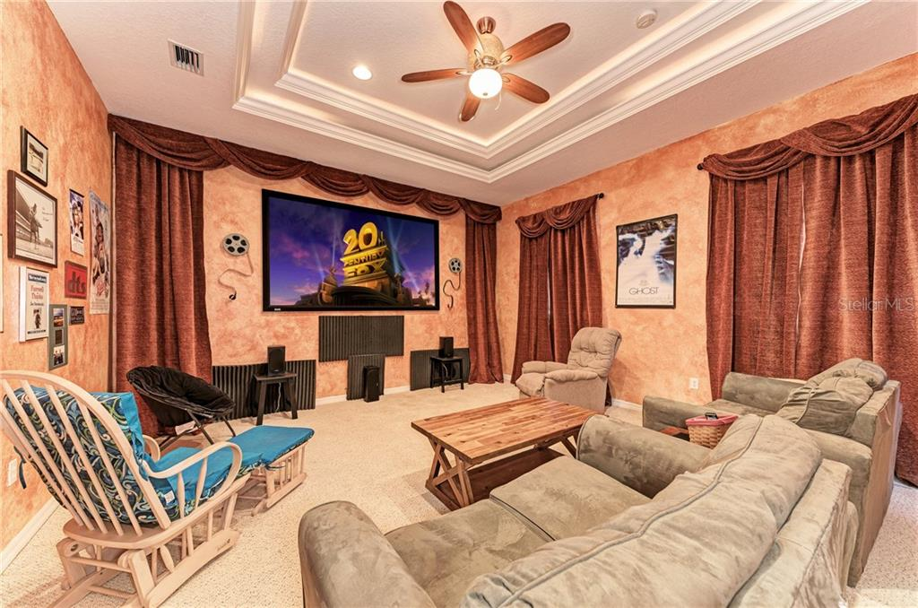 Your private movie theater - Single Family Home for sale at 7118 68th Dr E, Bradenton, FL 34203 - MLS Number is A4480398